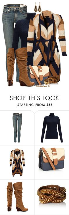 """""""JS Knee High Boots"""" by shakerhaallen ❤ liked on Polyvore featuring rag & bone, John Lewis, Accessorize, Jessica Simpson, Fendi and Sabine"""