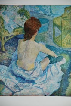 My favourite painting. Henri De Toulouse Lautrec, Belle Epoque, Figurative Art, Etsy Vintage, Impressionist, Art History, Printmaking, Art Boards, Illustrators