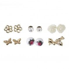 These Garden Multi Stud Pack are just oh so cute! Perfect for any occasion