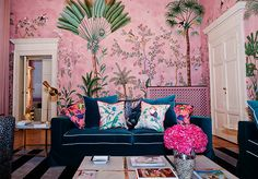 Image result for contemporary chinoiserie wallpaper