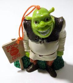 2004 Shrek Christmas Ornament - Carl's Jr Hardees Kids Meal NIP