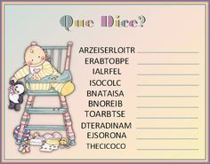 See related links to what you are looking for. Juegos Baby Shower Niño, Mesas Para Baby Shower, Baby Shower Games, Baby Shower Parties, Baby Boy Shower, Baby Shower Mixto, Baby Center, Baby Shower Printables, Baby Kids