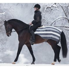 Rambo Newmarket Quarter Sheet | Dover Saddlery i absolutely adore this quarter sheet....