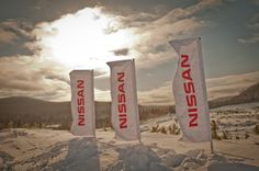 Nissan Canada planting the flag at Mecaglisse.