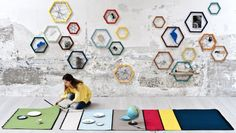 Tapperello Modular Rug by Nicola Lattanzi for Formabilio in home furnishings  Category