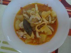 Cerotenedores - calamares con patatas
