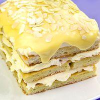 Opera cake White