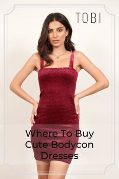 Find your next bodycon dress in lace or two-piece, black, white and more. Sexy bandage dresses for your next GNO! Off Order Red Holiday Dress, Holiday Party Outfit, Formal Cocktail Dress, Evening Cocktail, Women's Fashion Dresses, Sexy Dresses, Club Outfits, Party Outfits, Cute Dresses For Party