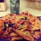 Easy Chorizo and Beef Nachos @ mantestedrecipes.com