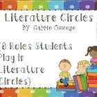 This is a 25-page packet on Literature Circles to be used in the Intermediate or Middle School classrooms. It is a comprehensive packet with poster...