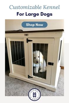 Looking for a large kennel for your dog? At Kennel and Crate we have pieces for all shapes and sizes! Tattoos For Dog Lovers, Dog Lover Quotes, Dog Kennels, Dog Furniture, Dog Shop, Dog Rooms, Crate Training, Product Ideas, Dog Crate