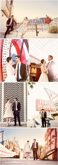 Little Vegas Wedding | Vintage, Retro Style Playful Elopement {Neon Museum} | http://www.littlevegaswedding.com?utm_content=buffer31355&utm_medium=social&utm_source=pinterest.com&utm_campaign=buffer