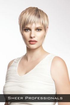 Short Layered Hairstyle with Movement