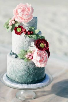 Featured Wedding Cake: Bliss Pastry