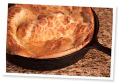 Wow, this is some Gluten-Free German Apple Pancake!(makes 2 large pancakes, or 4 servings)These delicious gluten-free yummies should be served as soon as they're pulled from the oven, as they w German Apple Pancake, German Pancakes Recipe, Dutch Baby Pancake, Puffy Pancake, Dutch Apple, Gluten Free Sweets, Gluten Free Cooking, Gluten Free Recipes, Foods With Gluten