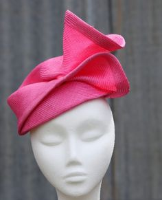 Pink parasisal by DIANA MCKINLAY #millinery #HatAcademy