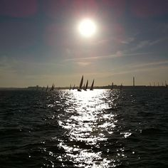 Sailing, gallery of fiona_therese. Royalty Free Images, Sailing, Art Photography, Around The Worlds, Stock Photos, Explore, Sunset, Gallery, Outdoor