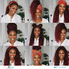 RT AminaAli_MUA: SkinandFollicle Happy New Year! Thank you #hair #hairtransplant #hairtransplantturkey #hairturkey #hairloss #hairtransplant #hairturkey #hairtransplantturkey #hairstyle #hairnews #hair #hairloss Faux Locs Hairstyles, Crochet Braids Hairstyles, Braided Hairstyles For Black Women, African Braids Hairstyles, Braids For Black Hair, Marley Twist Hairstyles, Hairstyles Videos, Hairstyles For Box Braids, Red Hair