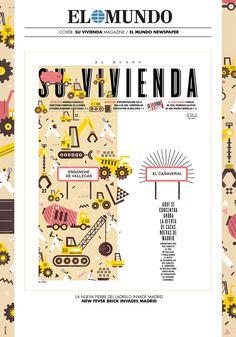 EL MUNDO NEWSPAPER / Su Vivienda (Cover) on Behance