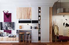 Продуманные системы хранения, компактная мебель и грамотное освещение – дизайнер…