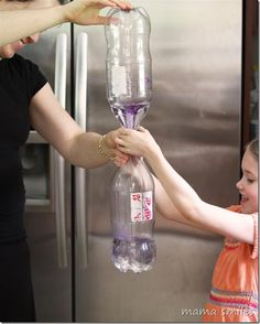 Fun science for kids with tornado tubes from @Mama Smiles - Joyful Parenting