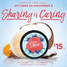 Share Skin Joy Coconut Oil