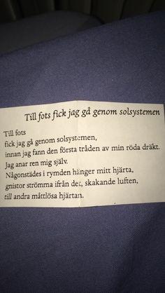Till fots - Edith Södergran