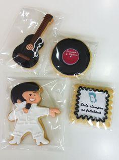 Elvis cookie--very cute!
