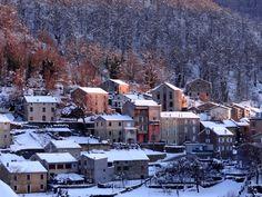 village de bastelica Corsica, France, Skiing, Scenery, Island, House Styles, Outdoor, Mediterranean Sea, Tourism