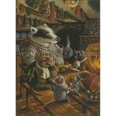Mr Badger (Begin) | Tilton Crafts