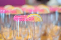 Adorable for a pink lemonade party!