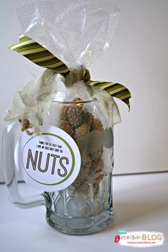 Nuts Teacher Gift