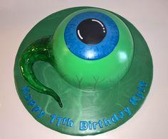 Eye ball cake jacksepticeye. www.facebook.com/icedmagiccreations