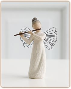 Willow Tree Engel der Harmony Angel of Harmony von Susan Lordi Willow Tree Statues, Willow Tree Nativity, Willow Figurines, Angel Sculpture, Sculpture Art, Willow Tree Engel, Willow Tree Figuren, Willow Creek, Sculpting