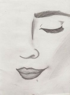 Easy pencil drawings, face drawing easy, good easy drawings, easy d Easy Pencil Drawings, Pencil Drawing Tutorials, Art Drawings Sketches, Cool Drawings, Drawing Ideas, Face Drawing Easy, Tumblr Drawings Easy, Drawing Faces, Drawing Tips