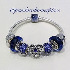 Love the blue love the deep blues and repeat of charms!