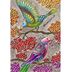 ・ 素敵便のお返事便でじゅんこさん( @junjuun_c4467 )に送ったものです頂いたポストカード塗り絵を塗ってお返事便とさせてもらいました ・ 初ハンナさんです ・ 記録用ですのでコメントスルーでお願いします❣️ ・ ・ #大人の塗り絵#コロリアージュ#ハンナカールソン #adultcoloringbook #adultcoloring #colouring #colouringbook #coloriage#hannakarlzon #ポストカード塗り絵