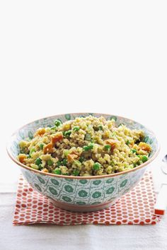 """Cauliflower """"Fried Rice"""" From The Grain Free Family Table"""