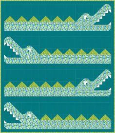 Sew Fresh Quilts: Crocodile Rock (a-bye-baby)