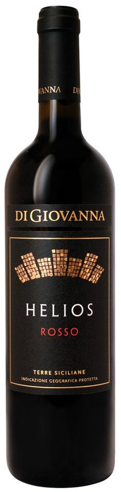 Vino Helios rosso Di Giovanna Nero d'Avola Syrah IGP 2013 Biologico cl 75