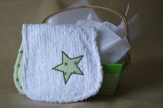 Gender Neutral Flannel & Chenille Burp Cloth by JennyTheRidds, $8.00