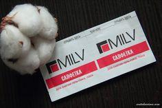 Anita Lacrima: Салфетки для снятия лака и гель-лака MILV - мои помощники в маникюре