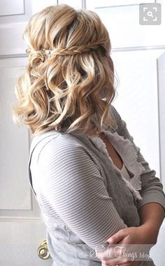 Bridesmaid Hair -Short