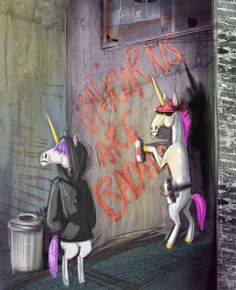 bad ass unicorns