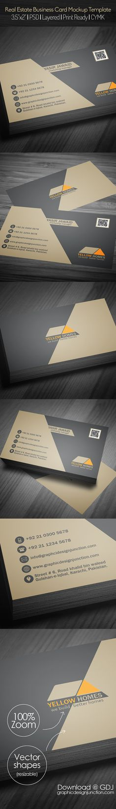 Cinematography business card template pinterest card templates real estate business card psd template freebie on behance reheart Image collections
