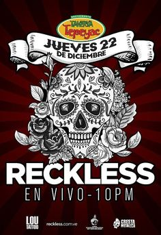 "Bar Tepeyac presenta: ""Reckless en vivo"" http://crestametalica.com/events/bar-tepeyac-presenta-reckless-en-vivo/ vía @crestametalica"