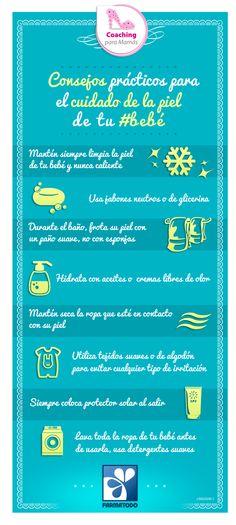 Consejos prácticos para el cuidado de la piel de tu bebé #Salud #Bebe #Niños