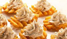 easy waffle fry appetizers