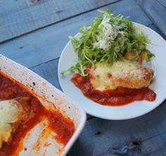 Akár hisszük, akár nem, de az olaszoknak is van rántott hús receptjük. Pasta Primavera, Fish Recipes, Chicken Recipes, Mozzarella, Poultry, Panna Cotta, Lunch, Meals, Cooking