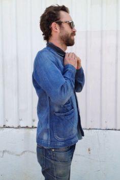 The updated Canadian tuxedo.